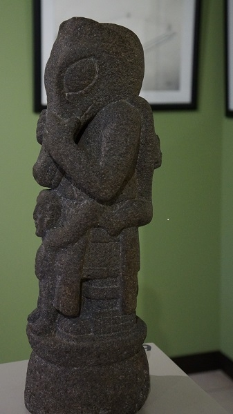 Maya-Skulptur im Museum Popol vuh