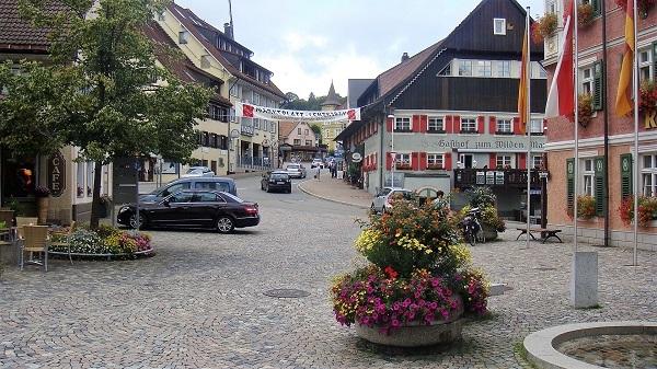 Im Dorfkern von Lenzkirch
