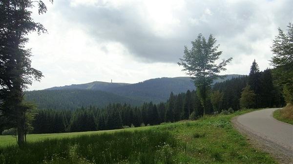 Aussicht auf den Feldberg
