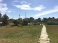 Im Park unserer Unterkunft im Vale da Telha