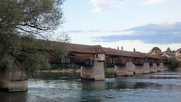Die historische Rheinbrücke in Bad Säckingen