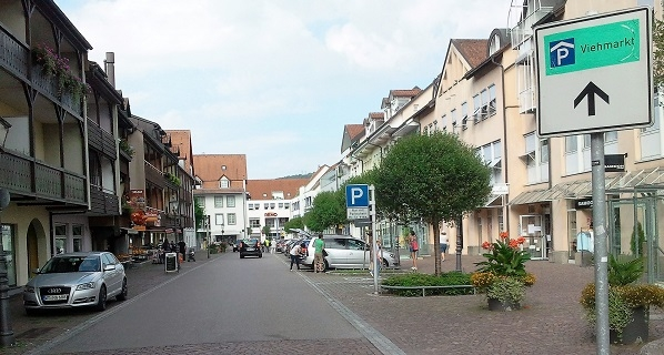 In der Wallstrasse in Waldshut