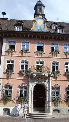 Das Rathaus von Waldshut