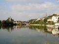 Blick zurück auf Bad Säckingen