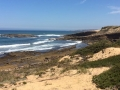Die Küste wird flacher