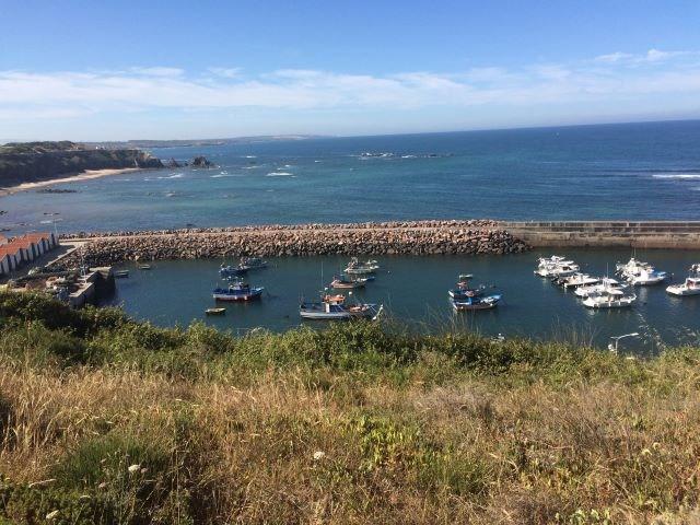 Der Barkenhafen von Vila Nova