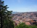 Ausblick auf die westlich gelegenen Staddteile