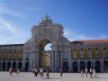 Arco da Rua Augusta beim Comercio-Platz