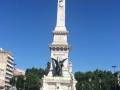 Denkmal an den Restaurationskrieg zur Unabhängigkeit von Spanien