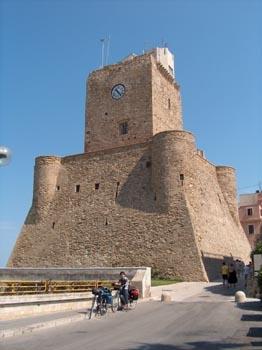 Das Castelleo Svevo von Termoli (Staufferschloss)