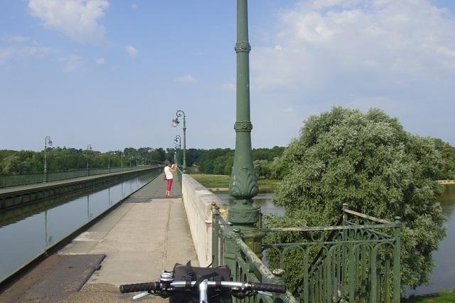 Die Kanalbrücke bei Briare