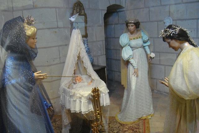 Blick in eines der Märchenzimmer