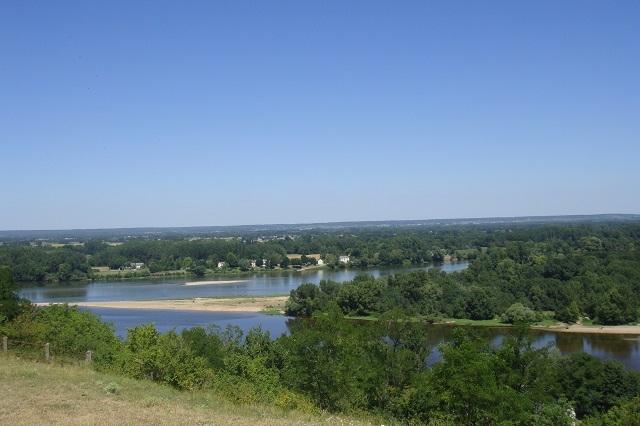 Am Zusammenfluss von Loire und Vienne