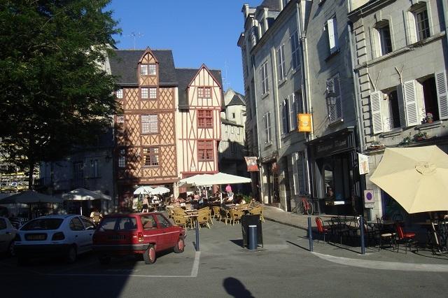 In der Altstadt vom Saumur