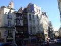 In der Altstadt von Nantes