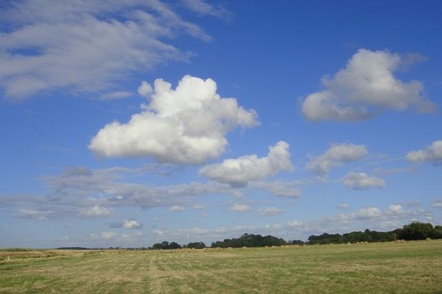 Landschaft bei Corsept
