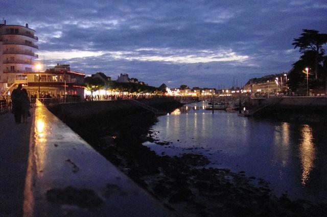 Abendstimmung in Pouliguen